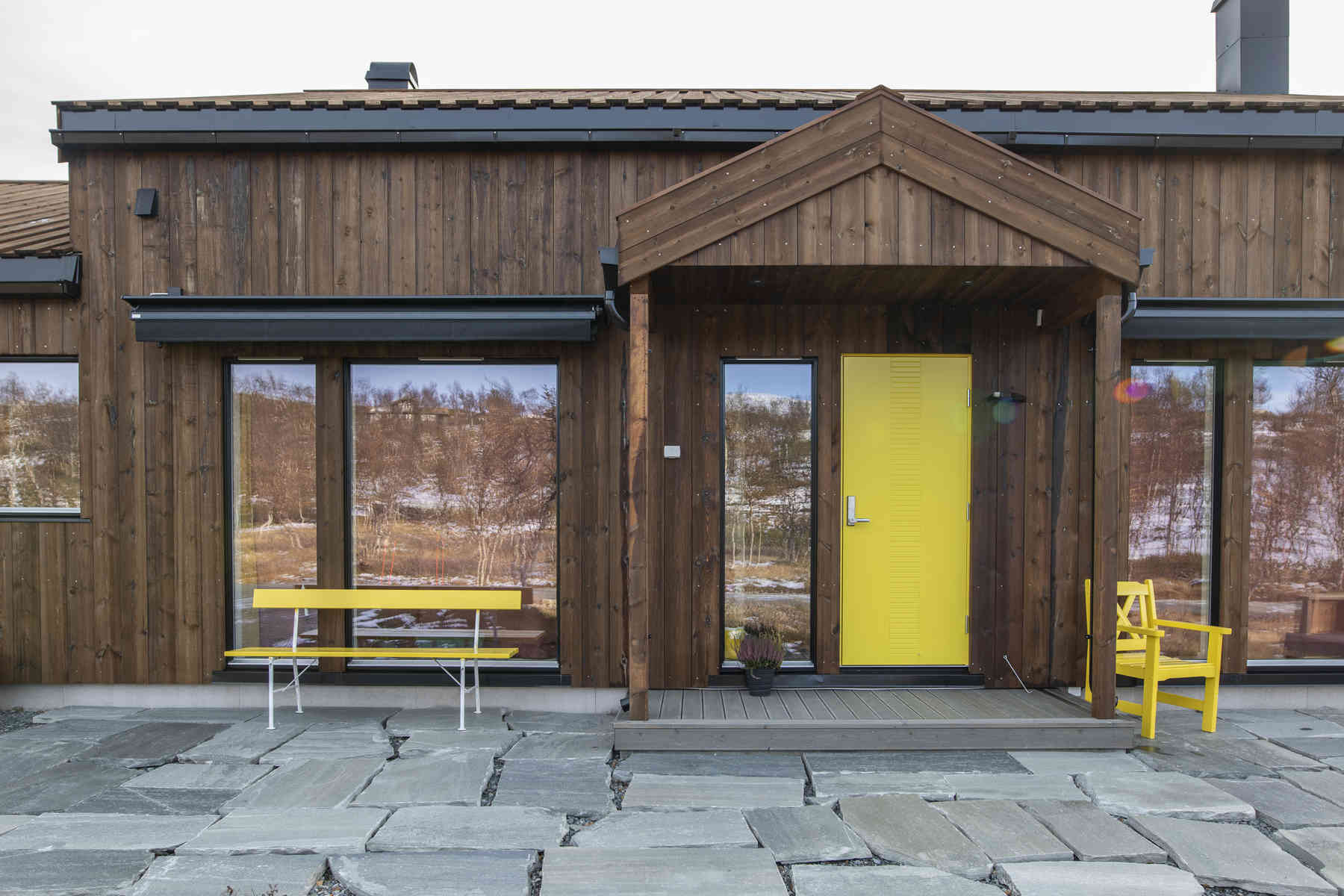 Arkitekttegent hytte – Alvdal Royal brun