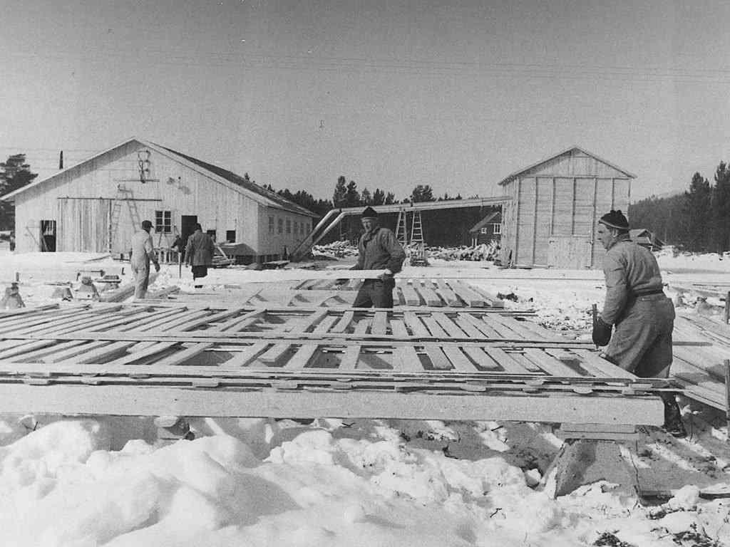 Alvdal Skurlag Olav O Sørhuus og Kjartan Strypet 1960