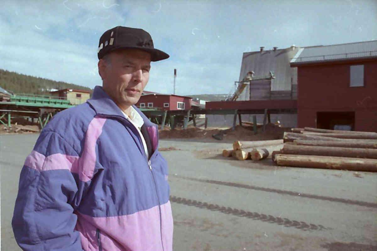 Alvdal Skurlag Arnestein Fuglem Foto Grue Per Magne Musea i Nord Østerdalen 1993